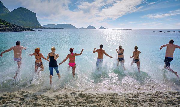vacaciones con amigos